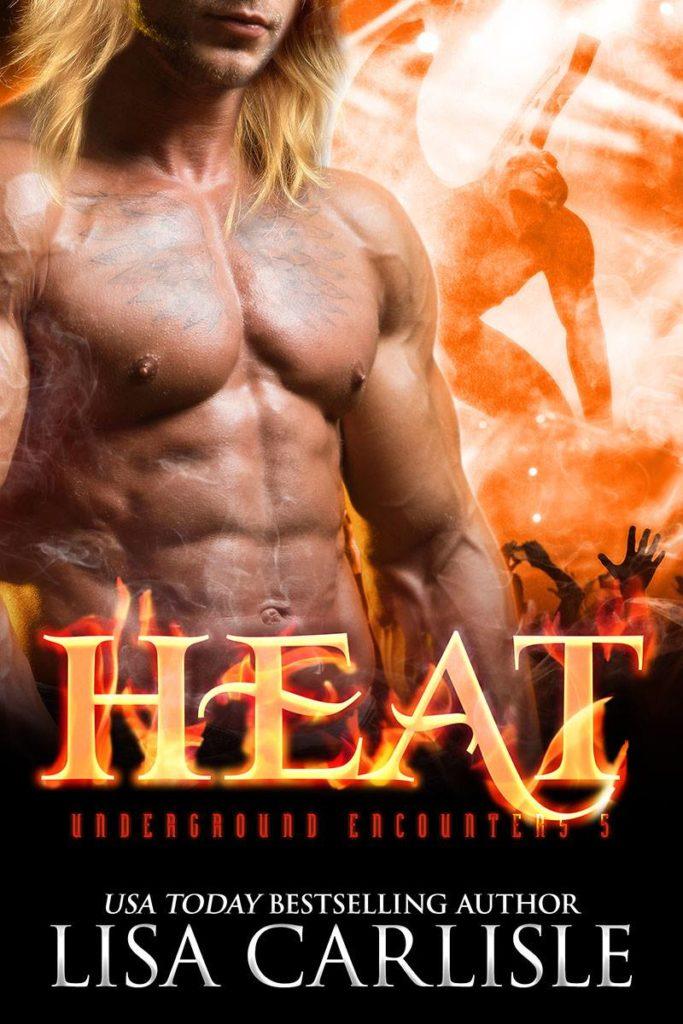 Book Cover: HEAT(a gargoyle shifter romance)